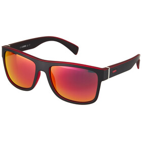 UVEX LGL 21 Glasses black mat red